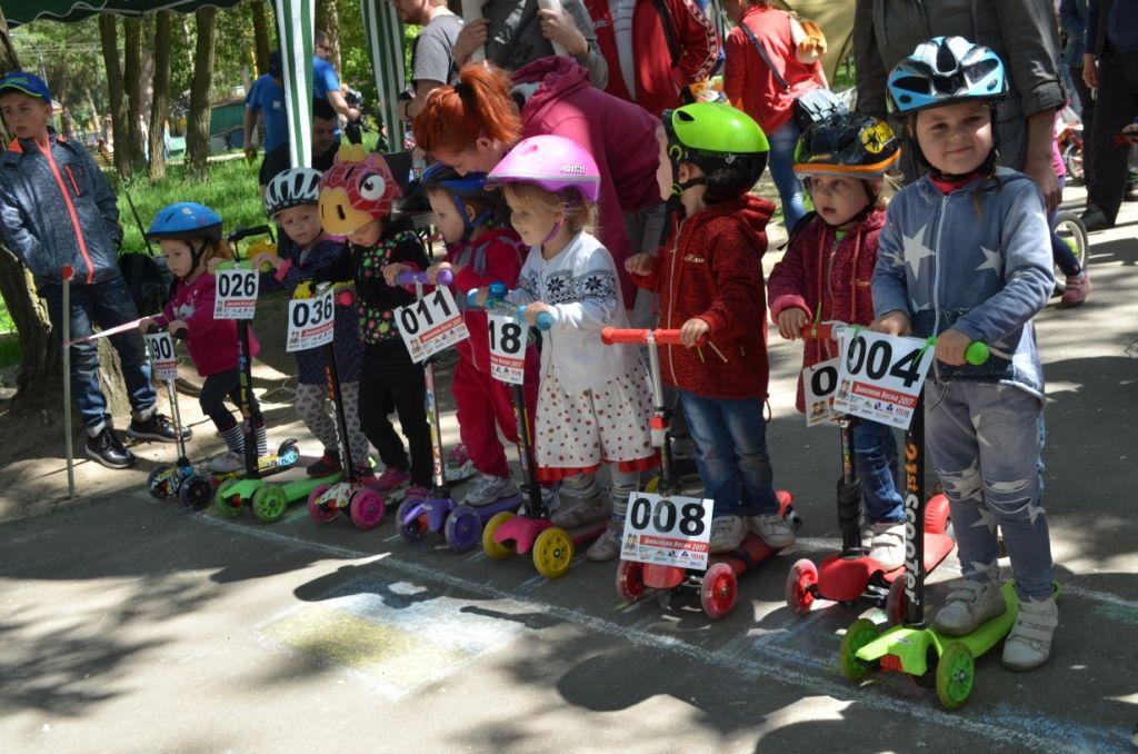 """У Житомирі розпочалися велоперегони на швидкість, серед дітей від 2-х до 12 років """"Дивогонка – Весна 2017"""""""