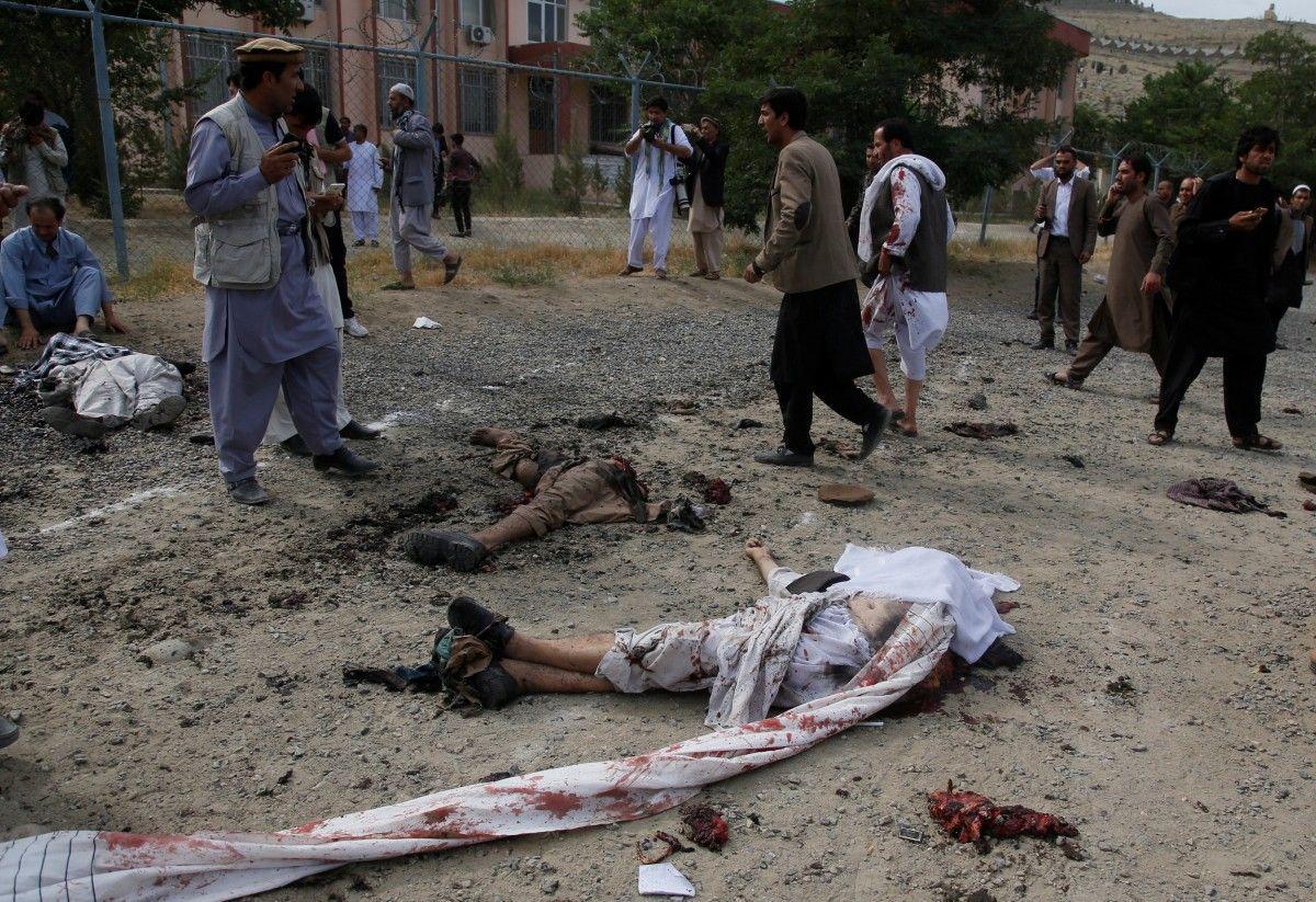 Как минимум 80 погибших и350 раненых— Теракт вКабуле