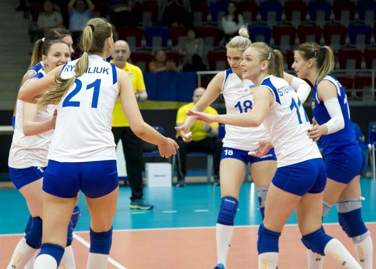 Украинки выиграли последний матч турнира в Баку / cev.lu