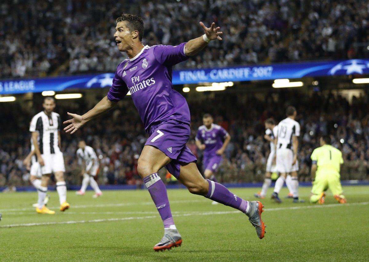 Роналду сделал дубль в финале Лиги чемпионов / Reuters