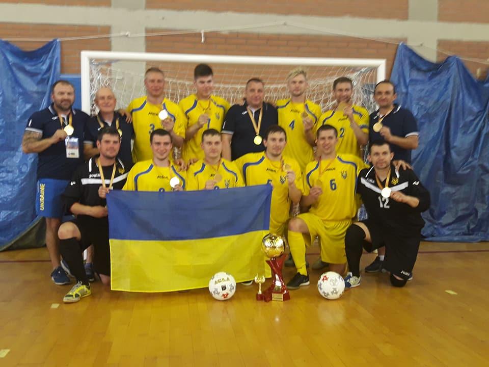 Украинская команда стала чемпионом мира  / futsal-sumy.in.ua