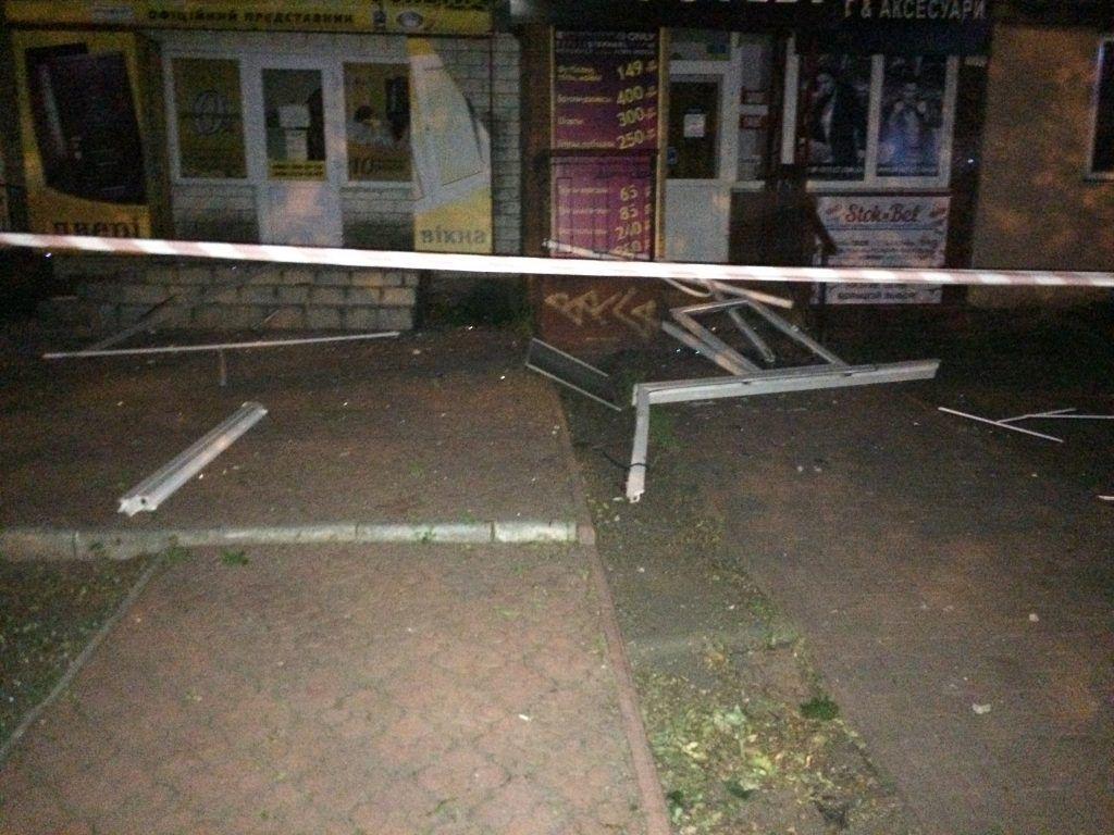 В результате взрыва в доме повылетали окна / vyshgorod.city