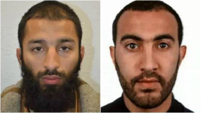 Теракт вЛондоні: поліція назвала імена і показала фото нападників