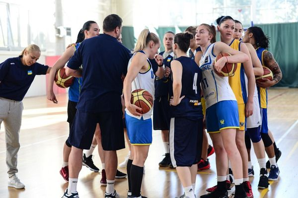 Украинки продолжают подготовку к Евробаскету / fbu.ua