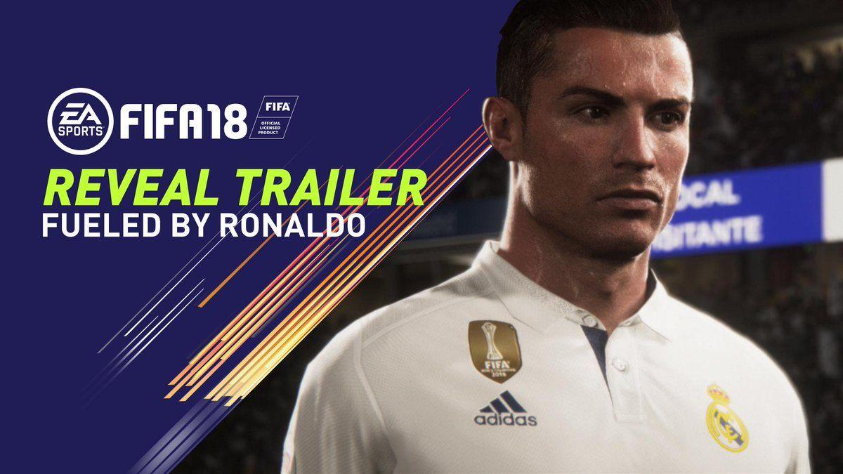 Роналду стал лицом компьютерной игры ФИФА / twitter.com/EASPORTSFIFA