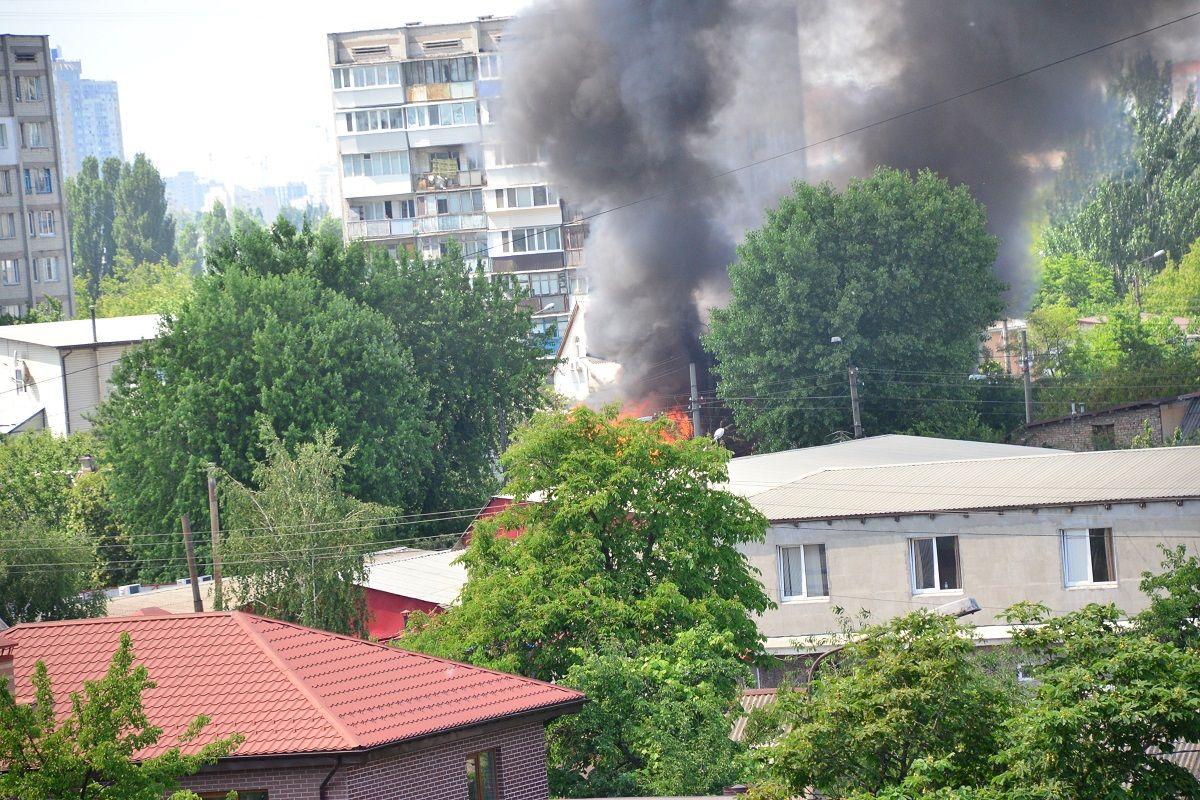 Разрушенный взрывом дом в Киеве не подлежит восстановлению / Фото УНИАН, Тарас Гудым