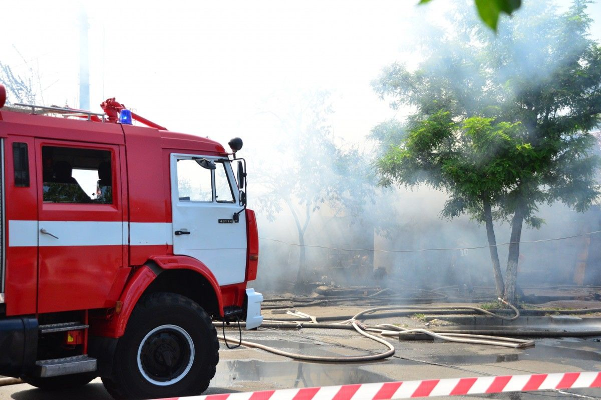 Мощный взрыв в Киеве / фото: УНИАН, Тарас Гудым