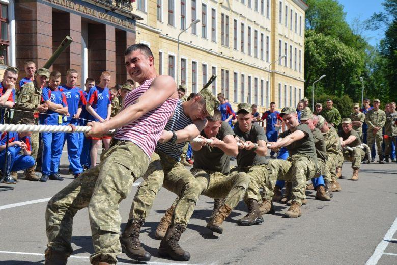 В Законе Украины обозначен термин военно-прикладного спорта
