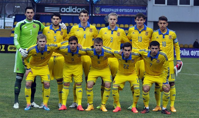 Молодежная сборная Украины / dynamo.kiev.ua