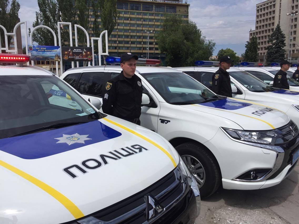 Поліція отримала нові авто / фото: МВс