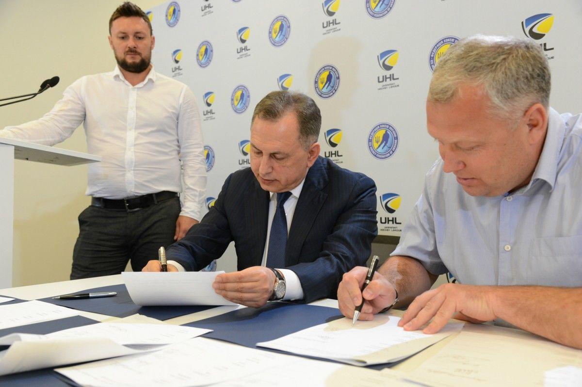 ВУкраинской хоккейной лиге всезоне 2017/2018 сыграют 8 клубов