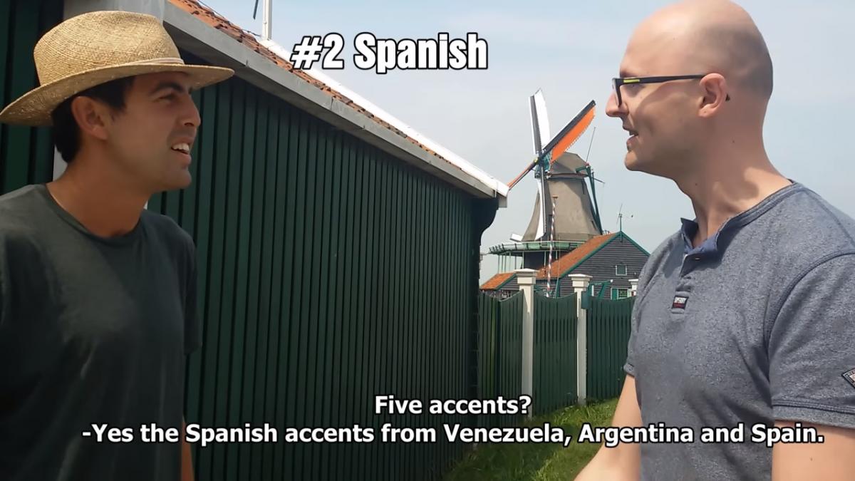 Битва двух лингвистических гениев / Скриншот с Youtube-канала Wouter Corduwener