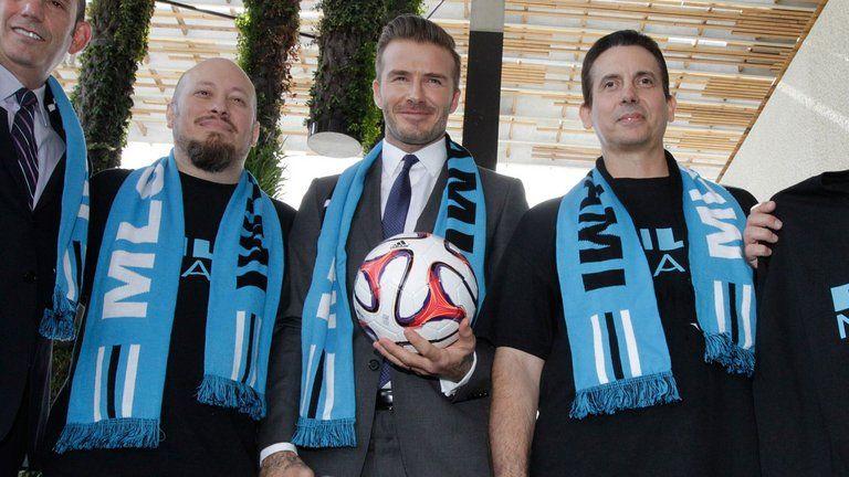 Дэвид Бекхэм - один из владельцев футбольного клуба в Майами / Sky Sports