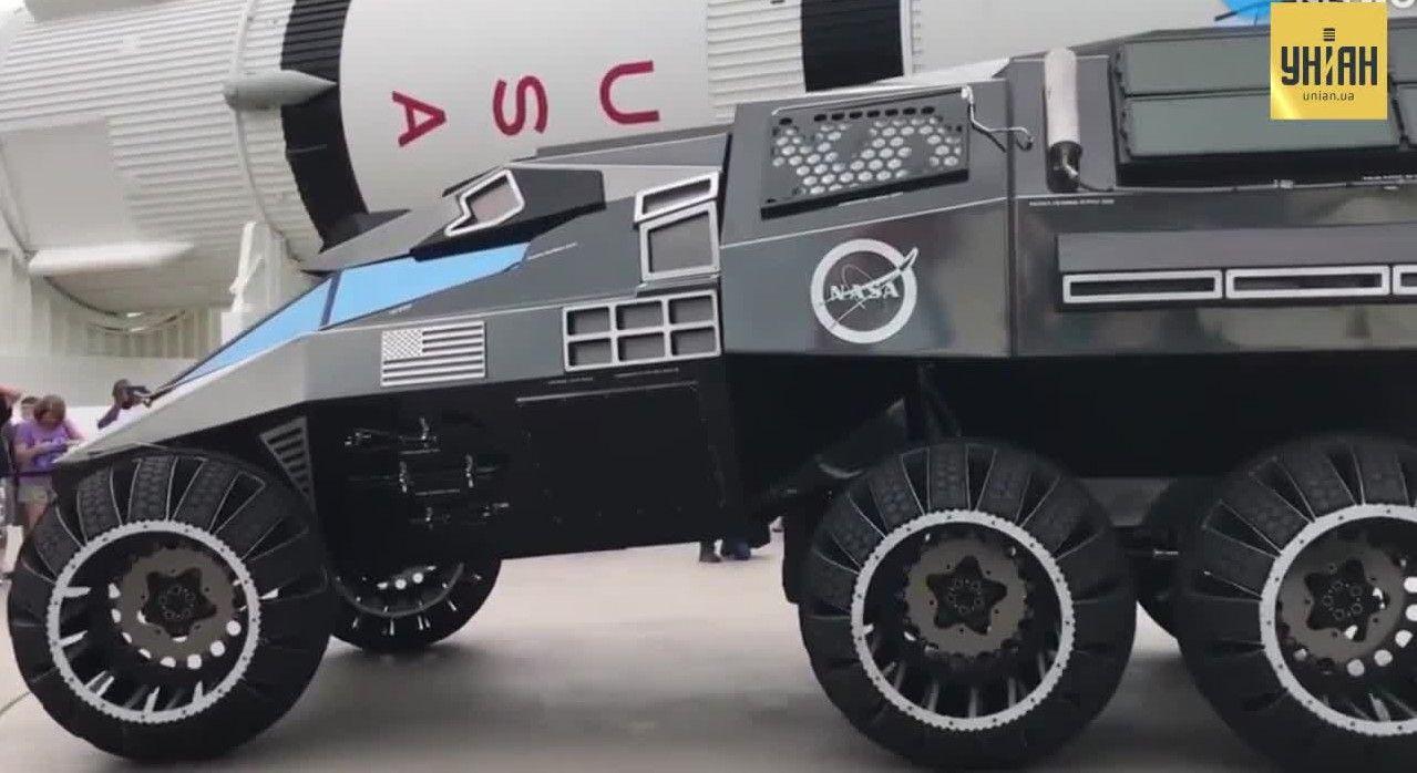 NASA представила концепт нового поколения марсоходов Mars Rover /