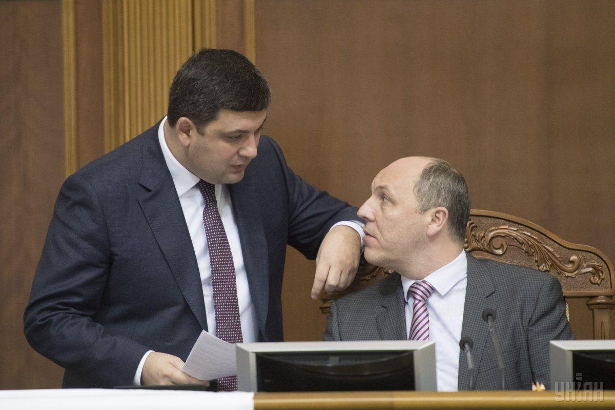 Андрей Парубий пообещал, что несколько основных реформ появятся в парламентской повестке в первые пленарные недели / фото УНИАН