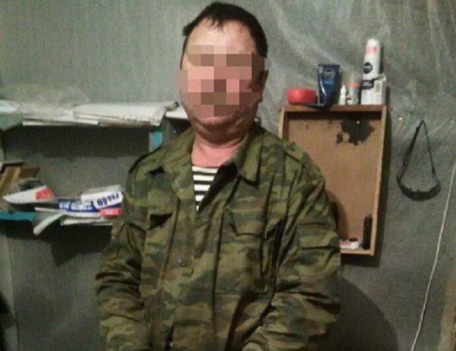 Боевик рассказал, что в составе банды находится с начала этого года / фото ssu.gov.ua