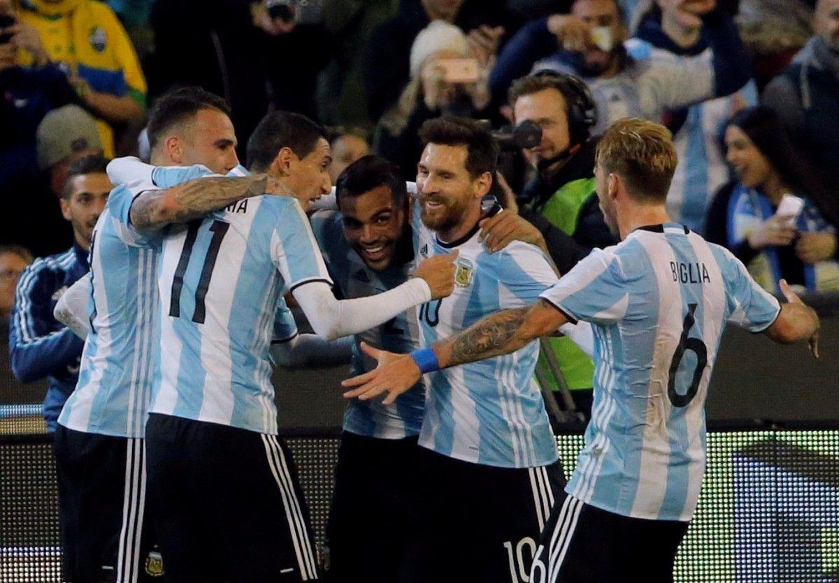 Збірна Аргентини запитувала 1 мільйон доларів за матч з Україною / Reuters