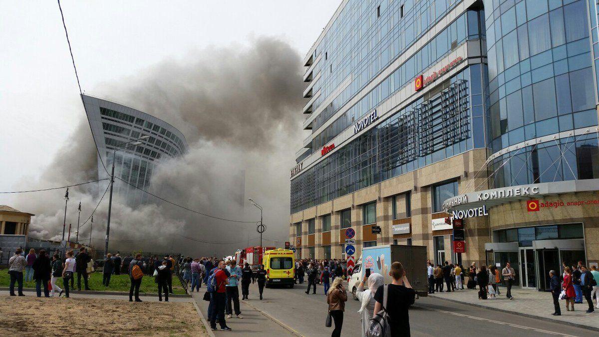 Удалось локализовать пожар наплощади Киевского вокзала в столицеРФ