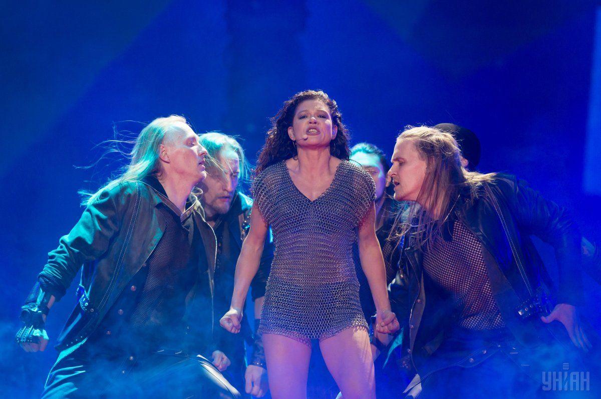 Руслана дає концерт у Лісабоні в рамках Євробачення/ фото УНІАН