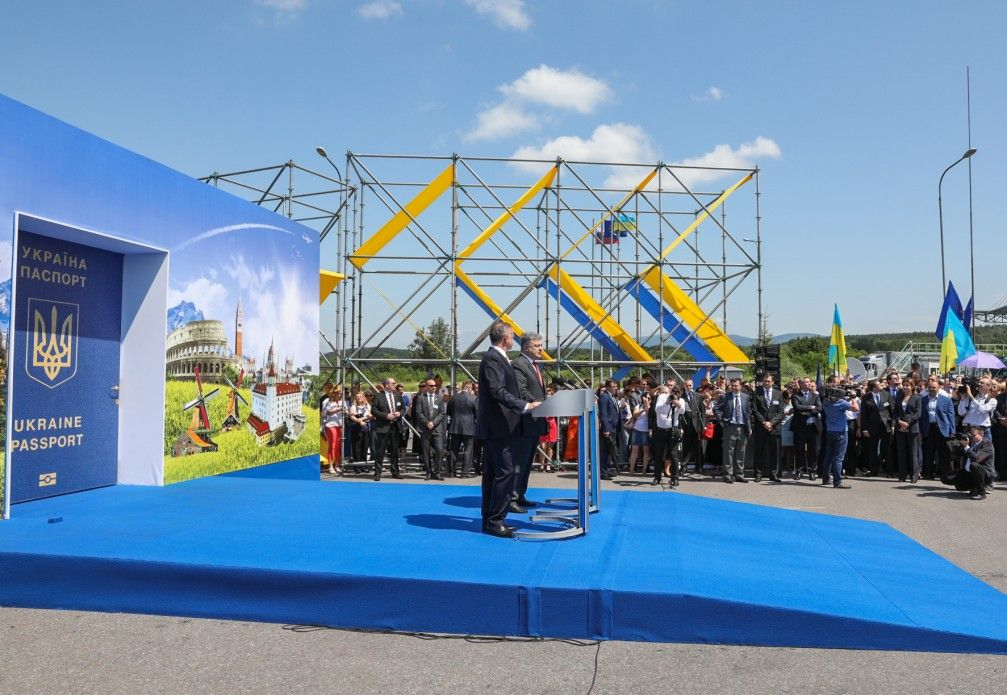 Порошенко открыл дверь в безвизовую Европу / фото president.gov.ua