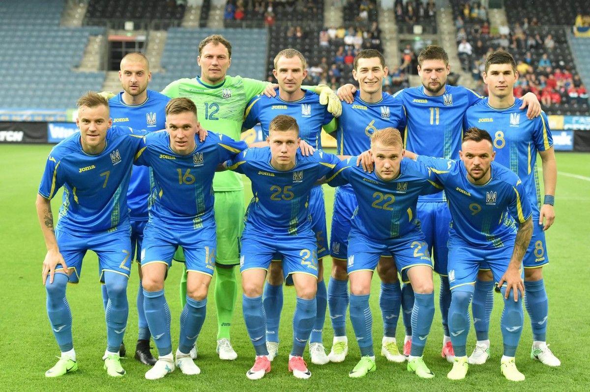 Сборная Украины играет с Финляндией  / ffu.org.ua