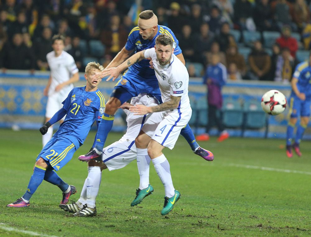 Сборная Украины - фаворит в матче с Финляндией / ffu.org.ua