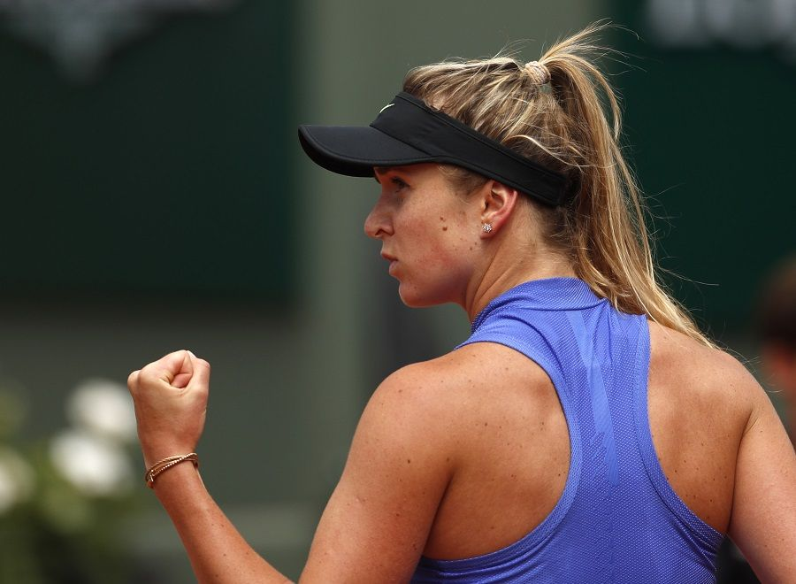 Украина Э.Свитолина обновила национальный рекорд врейтинге WTA