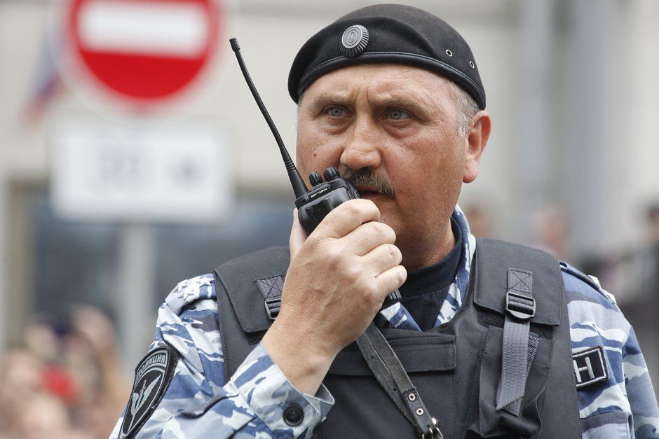 Kyiv Berkut's ex-chief spotted in Moscow dispersing rallies / Dozhd