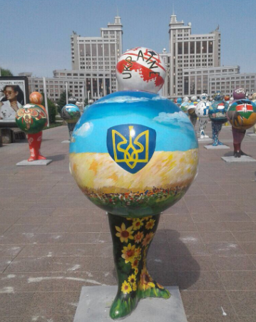 Карту Украины изобразили без Крыма / Twitter Павла Климкина