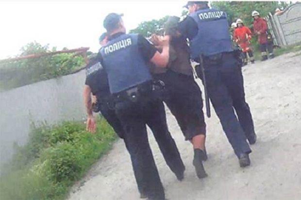 Чоловік перебував у стані алкогольного сп'яніння / фото dp.npu.gov.ua