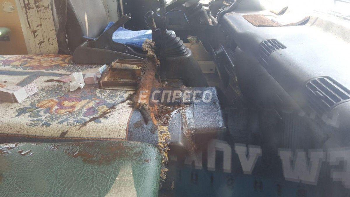 В автобусе взорвалась система охлаждения / фото Эспрессо