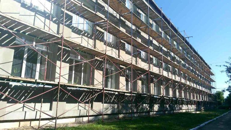 Хорошівську гимназию должны отремонтировать до конца июня / фото oda.zt.gov.ua