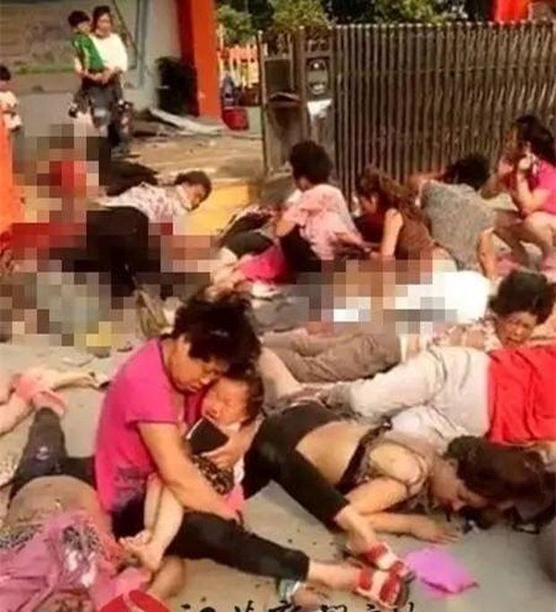 Милиция Китая определила подозреваемого ворганизации взрыва удетского сада