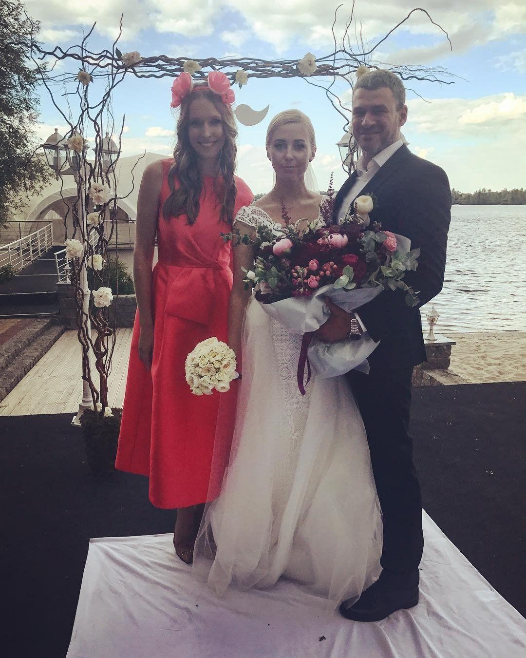 Тоня Матвиенко иАрсен Мирзоян стали мужем и супругой