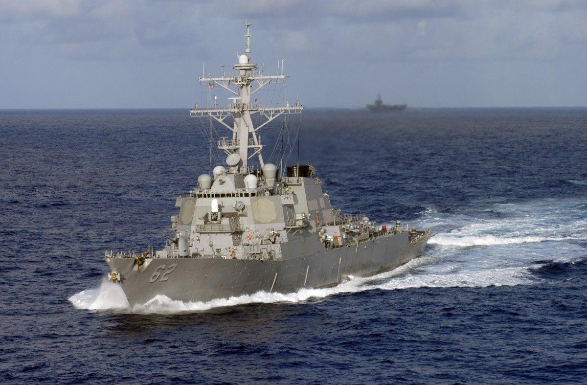 К месту инцидента направляются другие боевые корабли ВМС США / Фото wikimedia.org