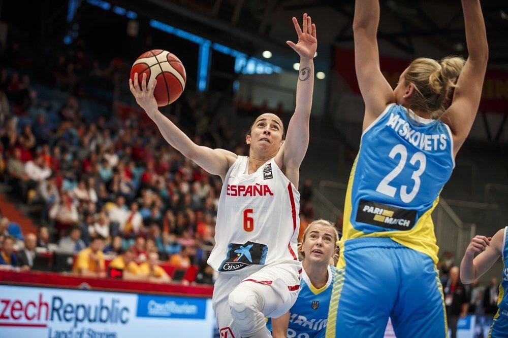 Украинки проиграли сборной Испании с рахницей более 20 очков / fiba.com