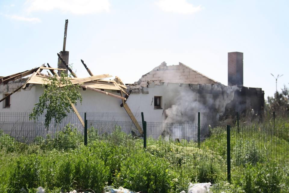 Повреждены несколько домов / facebook.com/ato.news