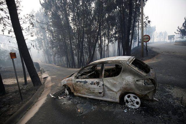Лесной пожар в Португалии / REUTERS