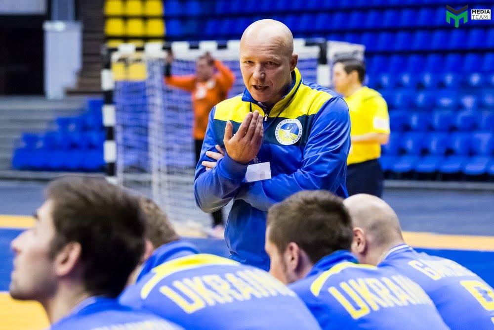 Главный тренер сборной Украины Виталий Андронов / Медиа тим