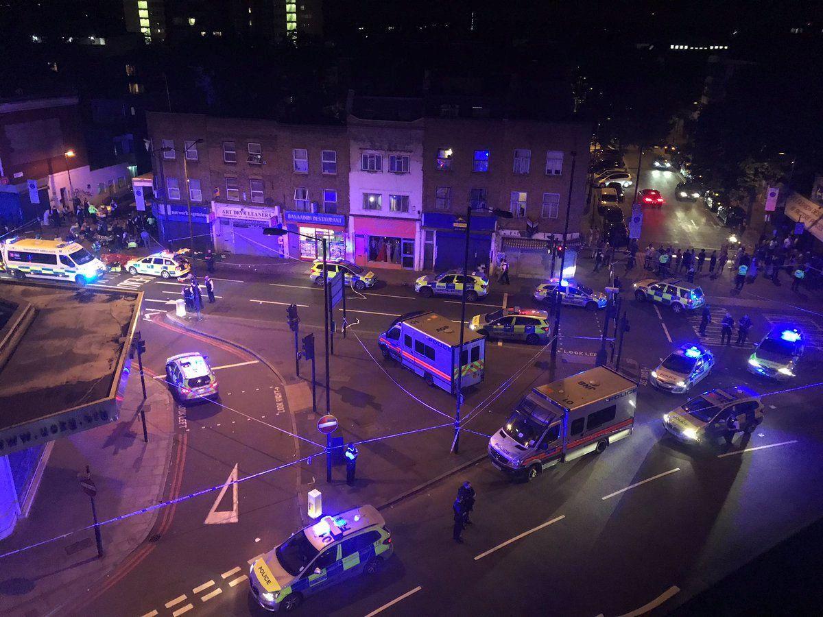 Район нападения в Лондоне / REUTERS