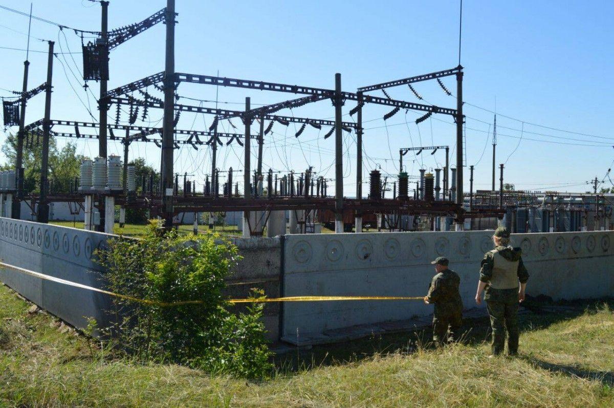 В результаті вибуху залізнична станція не постраждала / Facebook В'ячеслав Аброськін