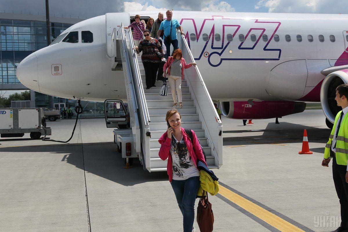 Wizz Air предлагает автономное покрытие отмены путешествия в определенных странах \ фото УНИАН