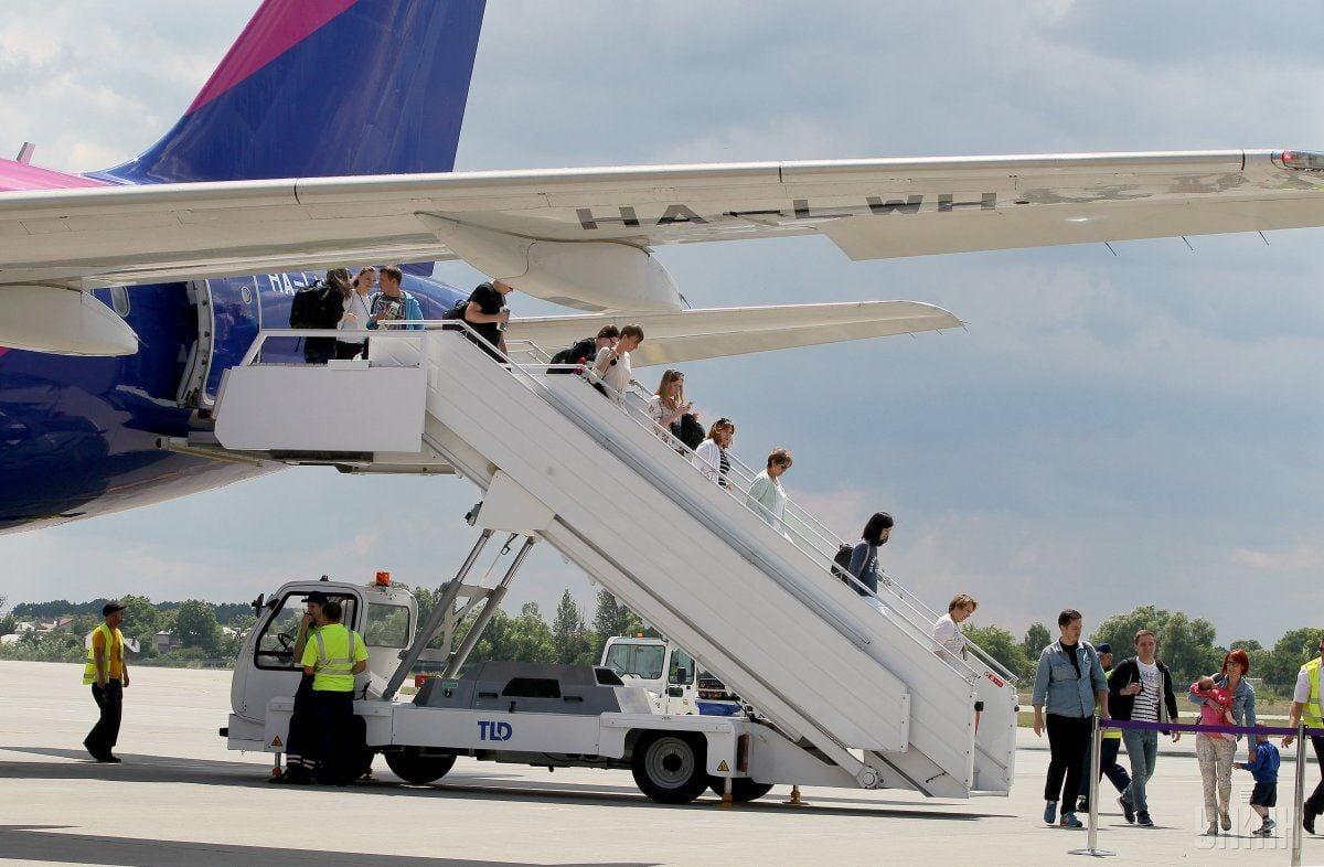 Аэропорт во Львове стал вторым для авиаперевозчика / фото УНИАН