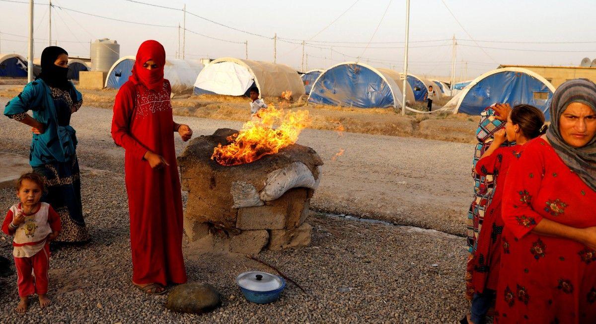 Иракские беженцы / REUTERS