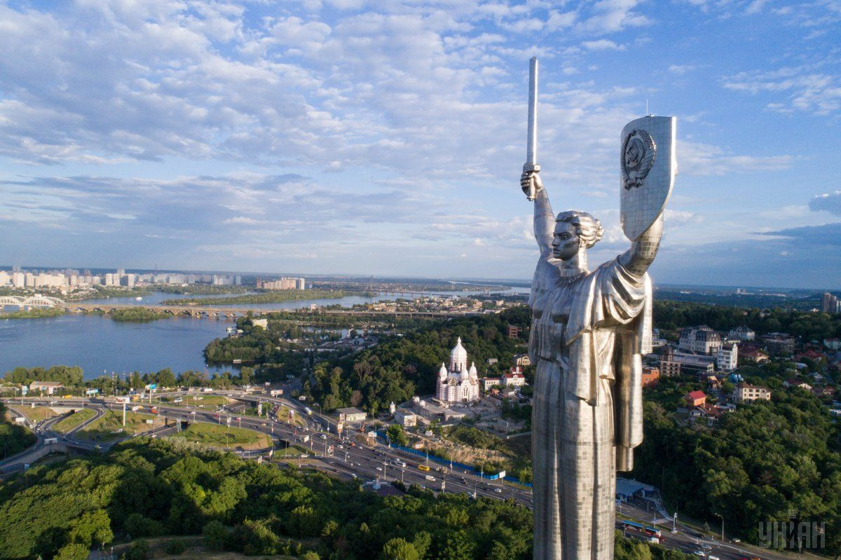 Motherland Statue in Kyiv / Photo from UNIAN