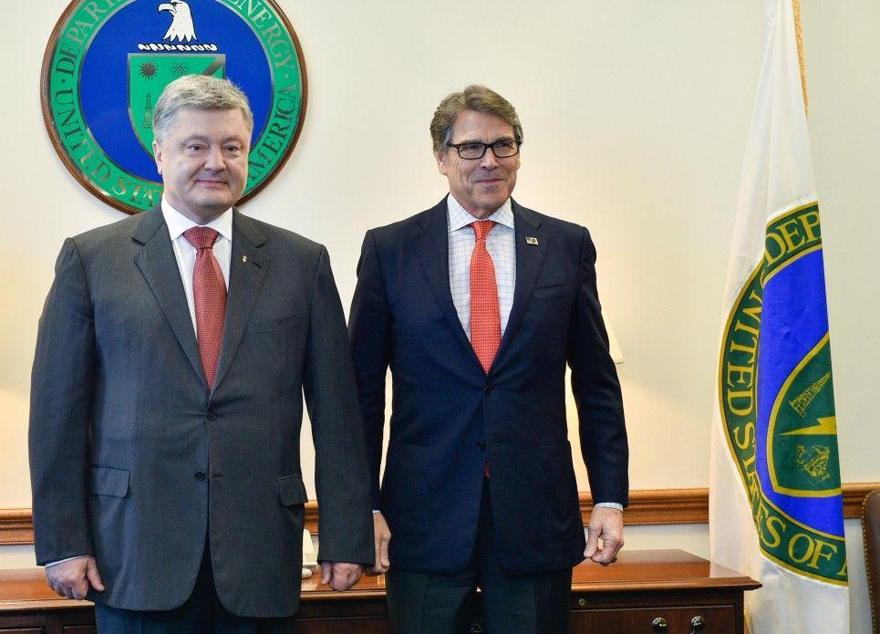 Порошенко у Вашингтоні провів зустріч з міністром енергетики США / фото president.gov.ua
