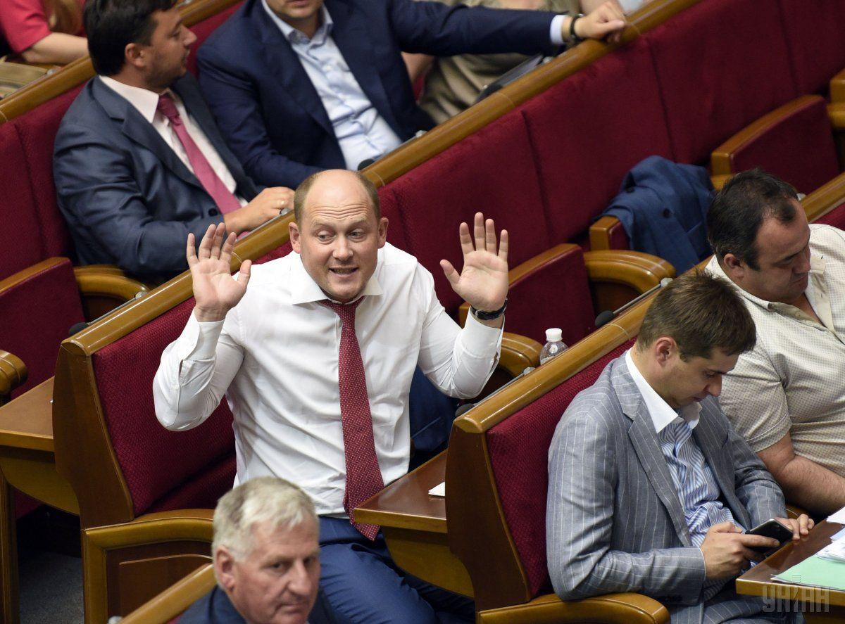 Сергей Каплин покинул фракцию БПП / Фото УНИАН