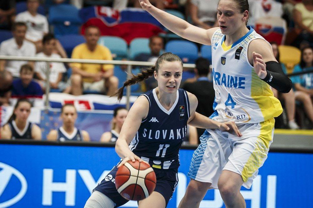 Сборная Украины не сумела сдержать команду Словакии в первом раунде плей-офф Евробаскета / fiba.com