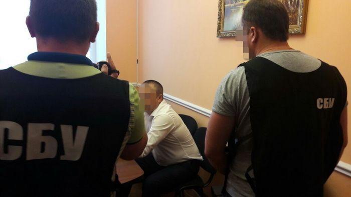 СБУ задержала депутата райсовета наподкупе заприкрытие незаконной добычи янтаря