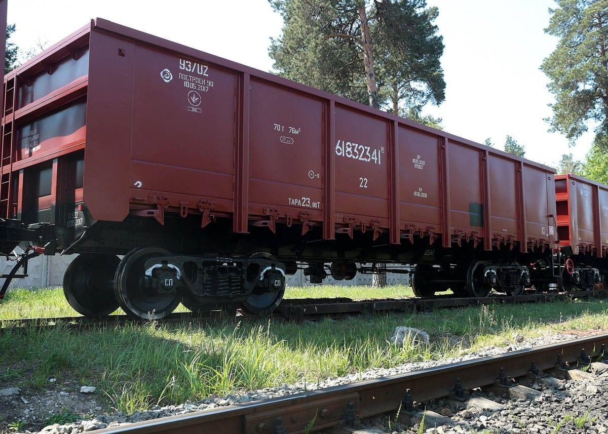 «Укрзализныця» ввела запрет на грузоперевозки в вагонах российских компаний / фото УЗ